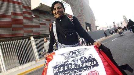 Aerosmith en Lima: mira las previas del concierto