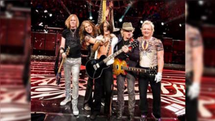 Así se vive el concierto de Aerosmith en Lima