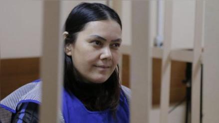 La niñera que decapitó a una menor en Rusia se declaró culpable