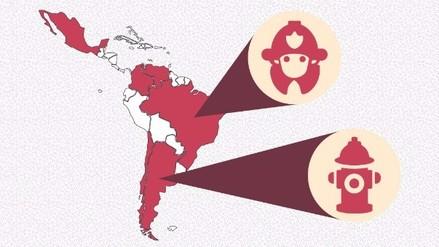 Bomberos en Latinoamérica: ¿Cómo se organizan y qué beneficios reciben?