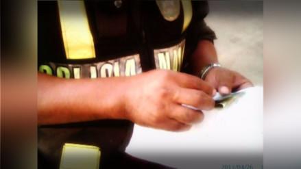 Puno: capturan a policías acusados de pedir coima de 4 mil soles