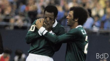Pelé mandó mensaje tras muerte de legendario lateral brasileño Carlos Alberto