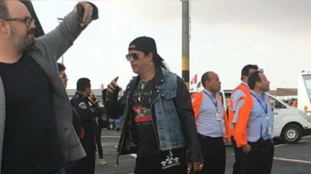 Guns N' Roses: así fue la llegada de la banda a Lima