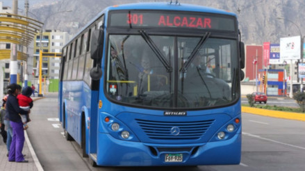 El pasaje en el Corredor Azul subirá de S/ 1.20 a 1.50 desde el 31 de octubre
