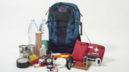 ¿Qué debe tener una mochila de rescate?