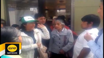 Vecinos de Baños del Inca protestan por falta de agua potable