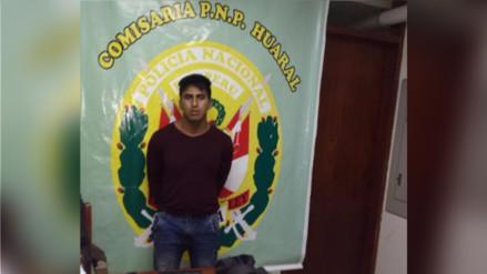 Huaral: capturan a presunto integrante de la banda criminal 'Los Palpeños'