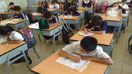 Lambayeque: más de 20 mil escolares rinden segunda evaluación censal