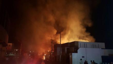 Incendio en Mollendo dejó tres familias damnificadas