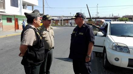 Inspectoría General de la Policía Nacional llegó a Chimbote