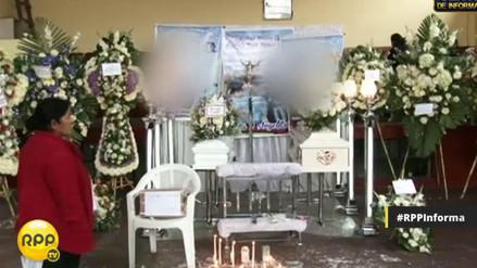 Velan a hermanos fallecidos en incendio en San Luis