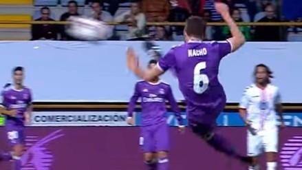 Nacho se postuló al 'Premio Puskas' con este golazo de tijera