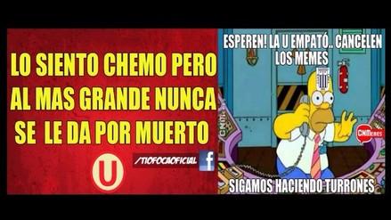 Los mejores memes de Universitario y la remontada ante la San Martín