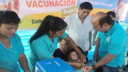 Piura: Salud vacuna más de 27 mil niños contra la polio