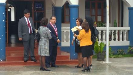 Fiscal de la Nación convoca a fiscales superiores en su visita a Chimbote