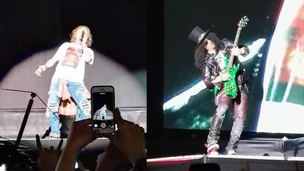 Guns N' Roses abrió concierto en Lima con