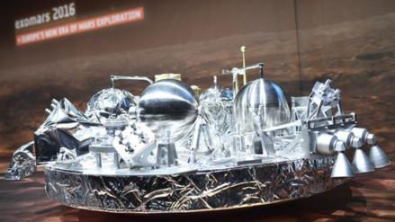 ¿Por qué el módulo Schiaparelli se estrelló en la superficie de Marte?