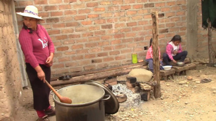 Huancayo: Niños llevan 3 días durmiendo en escuela por temor a ser atacados