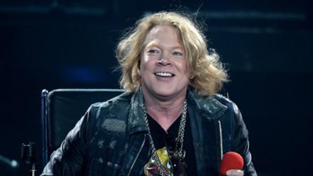 Guns N' Roses en Lima: Axl Rose fue captado en el aeropuerto