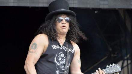 Guns N' Roses: Slash realiza prueba de sonido en el Monumental