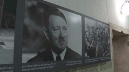 Reconstruyen el estudio en el que murió Hitler en un antiguo búnker nazi