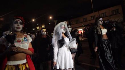 El Día de Muertos en México se festeja con color