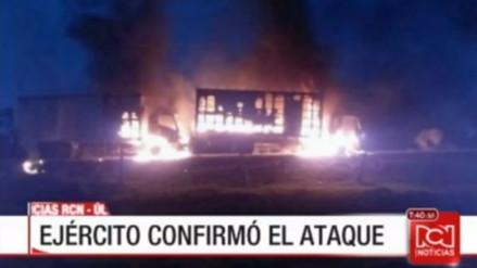Dos muertos dejó un ataque terrorista del ELN en Colombia