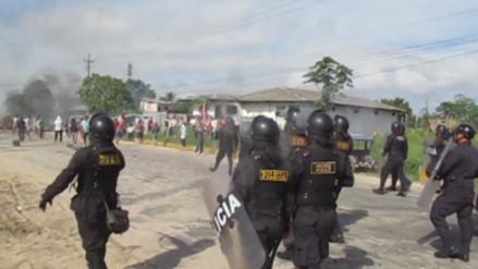 Iquitos: invasores y policías se enfrentaron durante desalojo