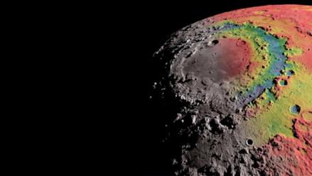 ¿Cómo se formó el cráter más grande de la Luna?