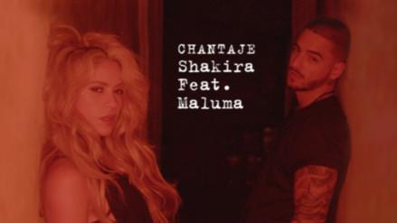 """Shakira y Maluma unen sus voces en el nuevo sencillo """"Chantaje"""""""