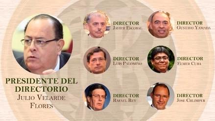 Sepa quiénes conforman el nuevo Directorio del BCR y más detalles