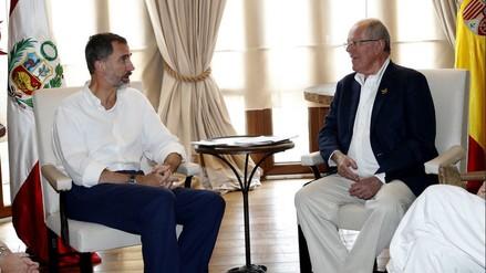 Así fue la reunión entre PPK y el rey Felipe VI de España en la Cumbre Iberoamericana