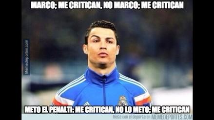 Real Madrid y Cristiano Ronaldo acaparan memes tras golear en Liga