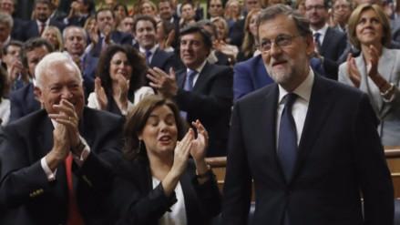 Mariano Rajoy fue reelegido como presidente de España