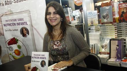 Sara Abu Sabbah presenta libro en Feria Ricardo Palma