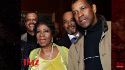 """Denzel Washington estranguló a Aretha Franklin"""