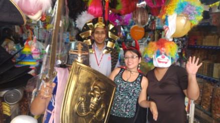 Disfraces se alquilan hasta en 250 soles en Arequipa