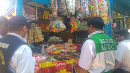 Chiclayo: decomisan bombones, kingkones y calabazas  por Halloween