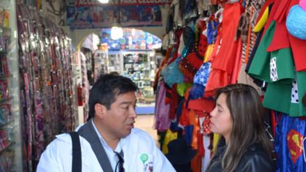 Huancayo: decomisan productos tóxicos tras operativo en mercados