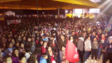 Más de 7 mil jóvenes participaron en Fiesta de la Fe en Santuario de Chapi