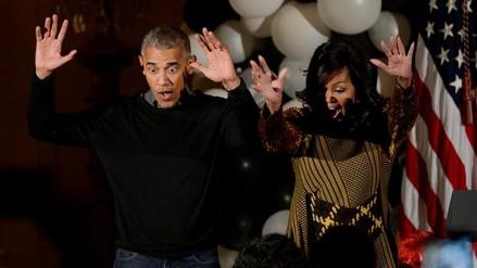 Así celebraron los Obama su último Halloween en la Casa Blanca
