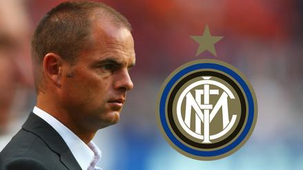 Oficial: Frank de Boer no es más entrenador del Inter de Milán