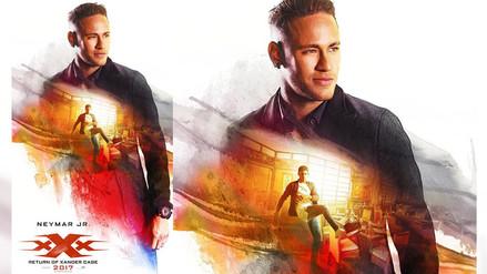 Neymar Jr. aparece en póster de nueva cinta de Vin Diesel