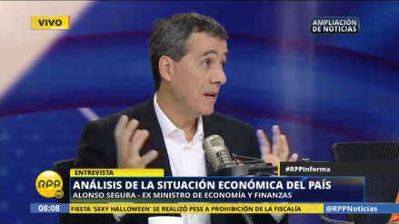 Alonso Segura al Gobierno: