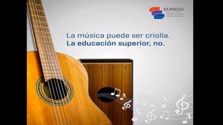 Apdayc exige a Sunedu desagravio a música criolla por mensaje peyorativo
