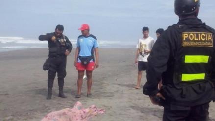Nuevo Chimbote: contratista pesquero murió ahogado en playa Atahualpa