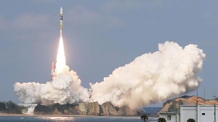 Japón lanzó con éxito un satélite meteorológico de alta precisión