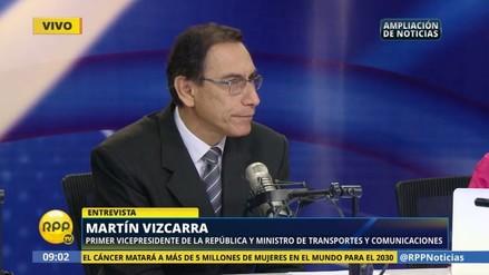 Martín Vizcarra cree que no es conveniente elección de José Chlimper para el BCR