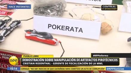 Cuidado con la poke-rata, el nuevo pirotécnico detectado en el mercado