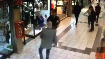 YouTube: anciano de 84 años detuvo a un ladrón que robó una joyería en Chile